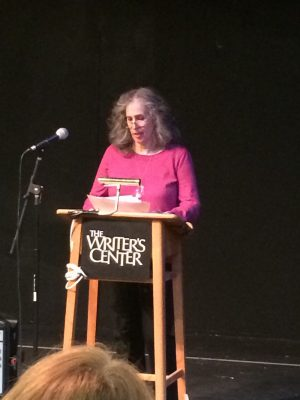 Lucinda Marshall organized the poetry reading.