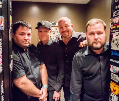N.E.W. athens: Dana Tofig, Steve Snyder, John Ohly and Will Styne.