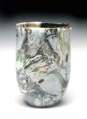 """Streambed,"" glass, Katherine G. Thomas, Juror's Award"