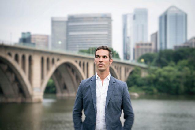 North Dakota-born, Portland, Oregon-raised Shapiro now resides in D.C.