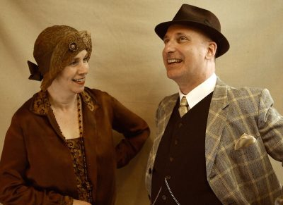 Laura Russell and David Dubov as Delia and Thurman Weems.