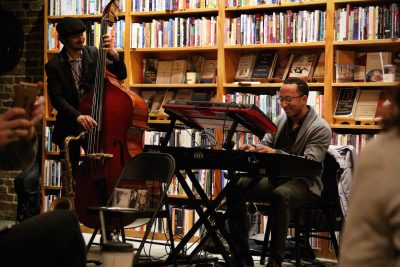 Saxophonist Elijah Balbed and pianist Mark G. Meadows