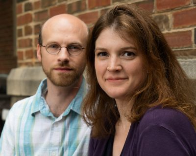 """Unexpected Stage co-founders Christopher Goodrich and Rachel Stroud-Goodrich found inspiration in parenthood; the play """"Oblivion"""" examines the parent-child bond more deeply."""