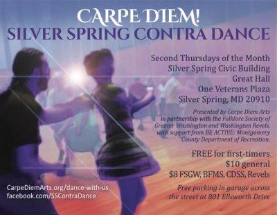 Carpe Diem! Second Thursday Contra Dance