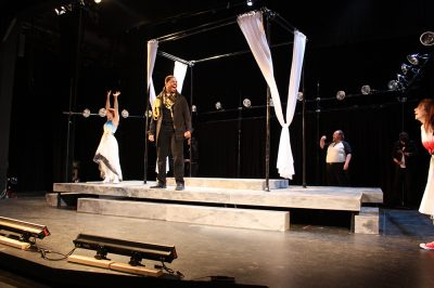 "The ensemble of National Players' ""Othello"""