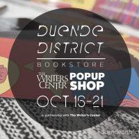 Duende District Pop-Up Bookstore