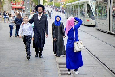 Jerusalem: City of contrasts.