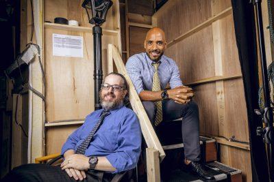 Dynamic Duo: Managing Director Leon Seeman and Artistic Director Michael J. Bobbitt