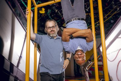Hanging Around: Leon Seemann and Michael J. Bobbitt