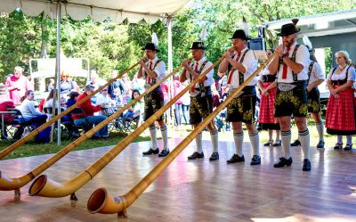 German-flavored entertainment will take the stage at the annual Oktoberfest at the Kentlands.