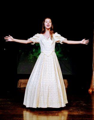 Kate Diuguid as Cinderella.
