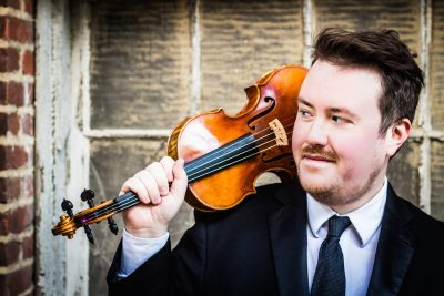 Colin Sorgi, who plays violin and viola, is the director of the Chamber Players and the National Philharmonic's concertmaster.