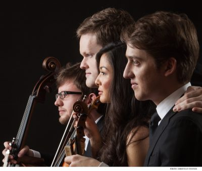 The New Orchestra of Washington's Aeolus Quartet.