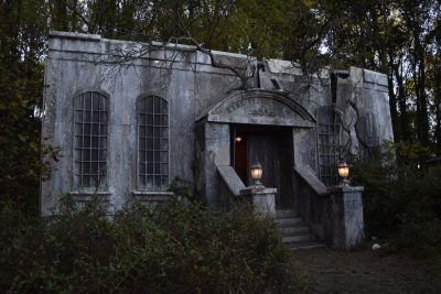 Field of Screams Maryland in Olney features the Lusion Manor haunted house.