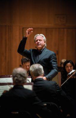 Maestro Markus Stenz guest conducting the Baltimore Symphony Orchestra.