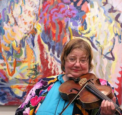 Betty Hauck, violinist and violist, will perform Oct. 7 in Takoma Park.