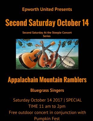Live Bluegrass Music at Pumpkin Fest