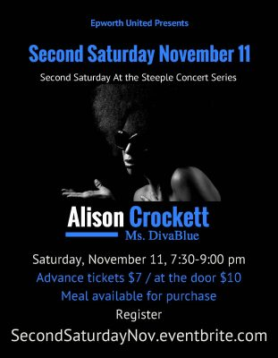 Second Saturday with Alison Crockett