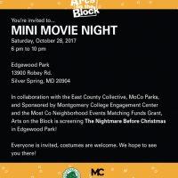 Mini Movie Night: The Nightmare Before Christmas