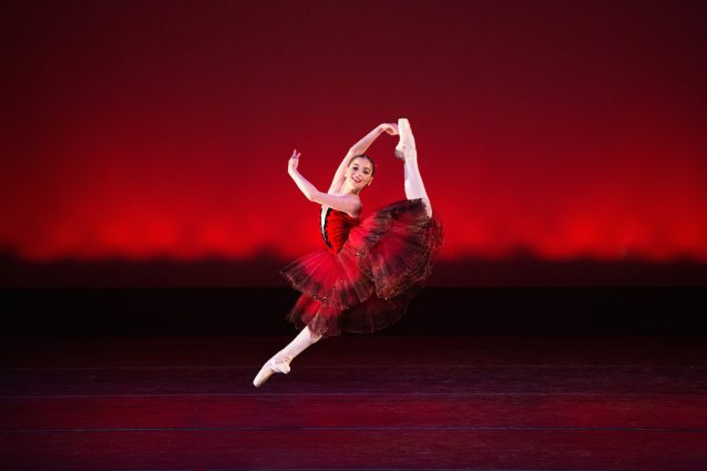 "Caroline Hamilton dances in Akhedova Ballet Academy's ""Nutcracker Night."""