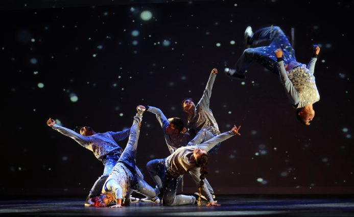 "A scene from ""The Hip Hop Nutcracker."""