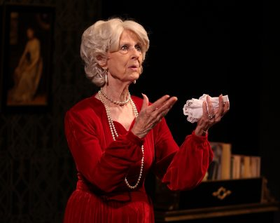 "Jane Squier Bruns as Myrtle Bledsoe in Horton Foote's ""A Coffin in Egypt."""