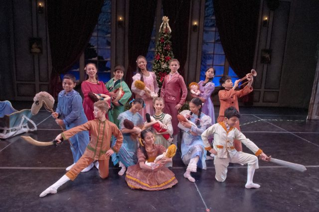 "A scene from Maryland Youth Ballet's ""The Nutcracker."""
