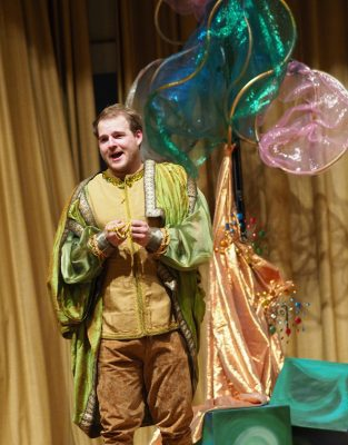 """Andrew Ellis as Tamino, a prince, in Bel Cantanti's production of """"The Magic Flute."""""""