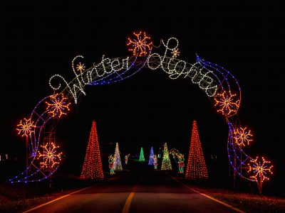 Welcome to the 22nd Winter Lights Festival in Gaitherburg's Seneca Creek State Park.