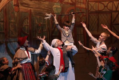 "The final scene of Hope Garden Ballet Academy's ""A Christmas Carol"" is full of joy."