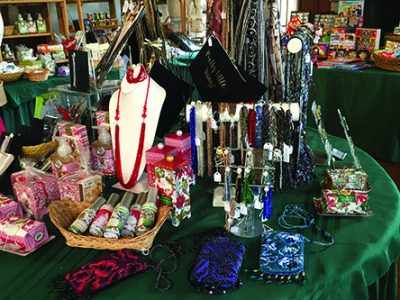 A look at Montgomery History's shop at last year's market in the Mansion.