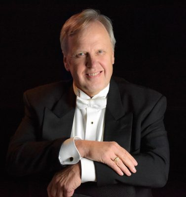 Stan Engebretson has led the National Philharmonic Chorale since its inception.