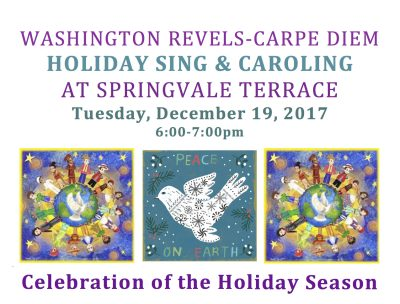 Caroling at Springvale Terrace