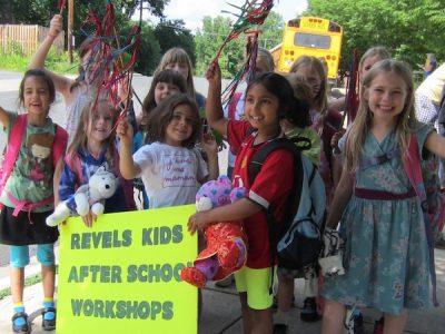 Washington Revels Winter After-School Workshops