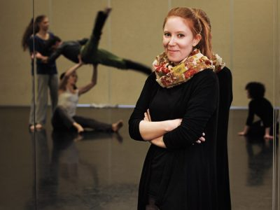Cassie Meador serves as Dance Exchange's executive artistic director.