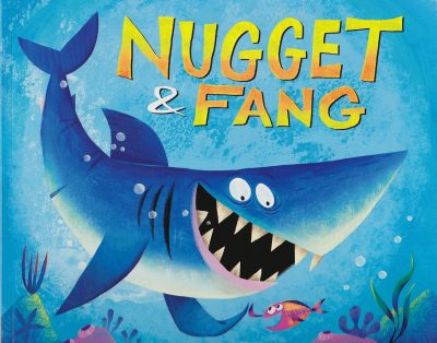 """Nugget & Fang"" graphic"
