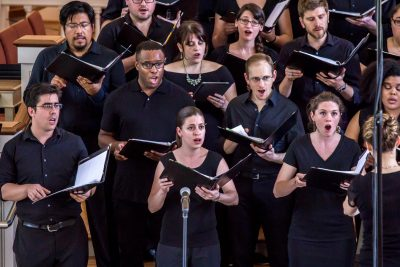The Six Degree Singers is an all-volunteer community-based choir that Rachel Carlson founded in 2009.