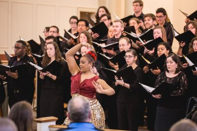 The Six Degree Singers has premiered 16 new works by emerging composers.