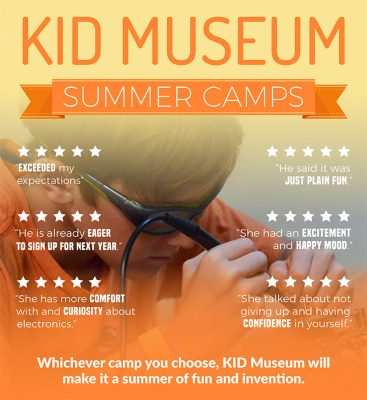 KID Museum Summer Camp 2018