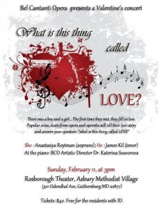 Valentine's Concert: What Is This Thing Called Love?