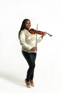 Chelsey Green was introduced to the violin when she was 5 years old.