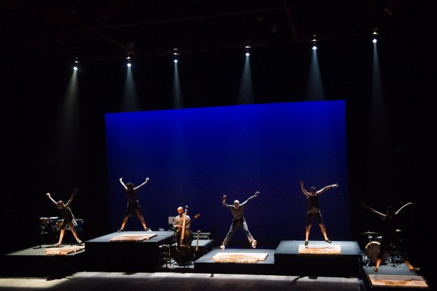 "The whole stage becomes an instrument in ""ETM: Double Down."""