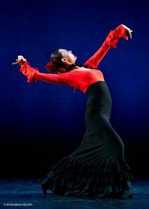 Flamenco Vivo soloist Charo Espino