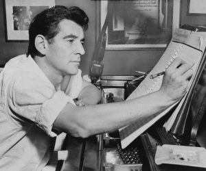 The composer at work (1955)