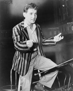 """Man of style: Leonard Bernstein, """"forever young."""" (1945)"""