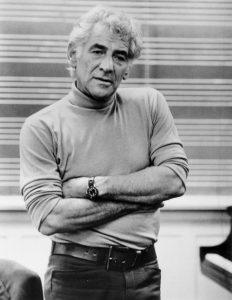 Multimedia star: Leonard Bernstein's frequent television appearances made him a familiar figure to music lovers.