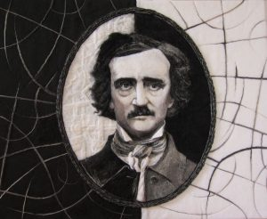 "The winner: ""Portrait of E.A. Poe"" by Alla Kanareykina took Best in Show at Strathmore's 27th Juried Exhibition."