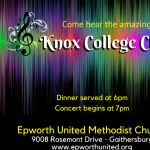 Knox College Choir Concert