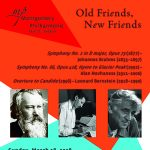Old Friends, New Friends: Music by Bernstein, Brahms, and Hovhaness