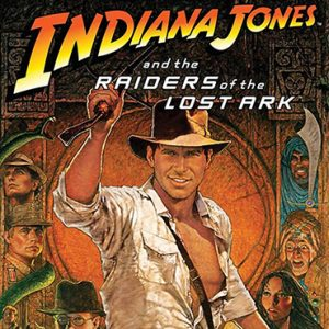Raiders of the Lost Ark Movie with Orchestra